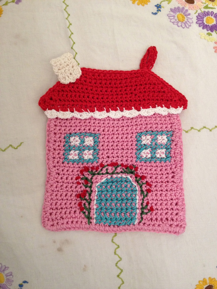 crochet pot holder madebymimuk