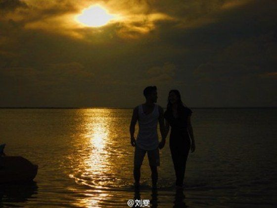 'We Got Married' Couple Choi Siwon and Liu Wen Share Photos from Chinese Show   Koogle TV