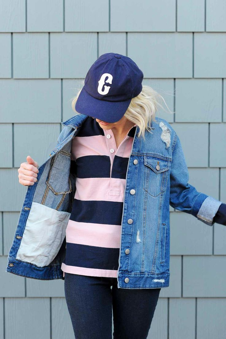 How To Style A Striped Rugby Shirt - Poor Little It Girl