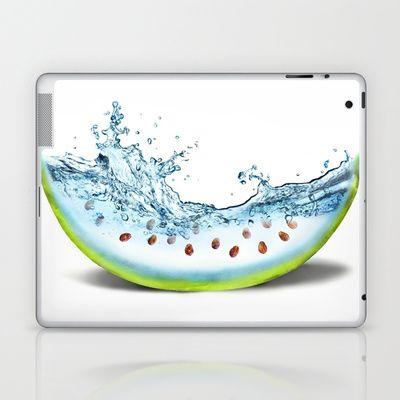 WATER-MELLON Laptop & iPad Skin by hardkitty - $25.00