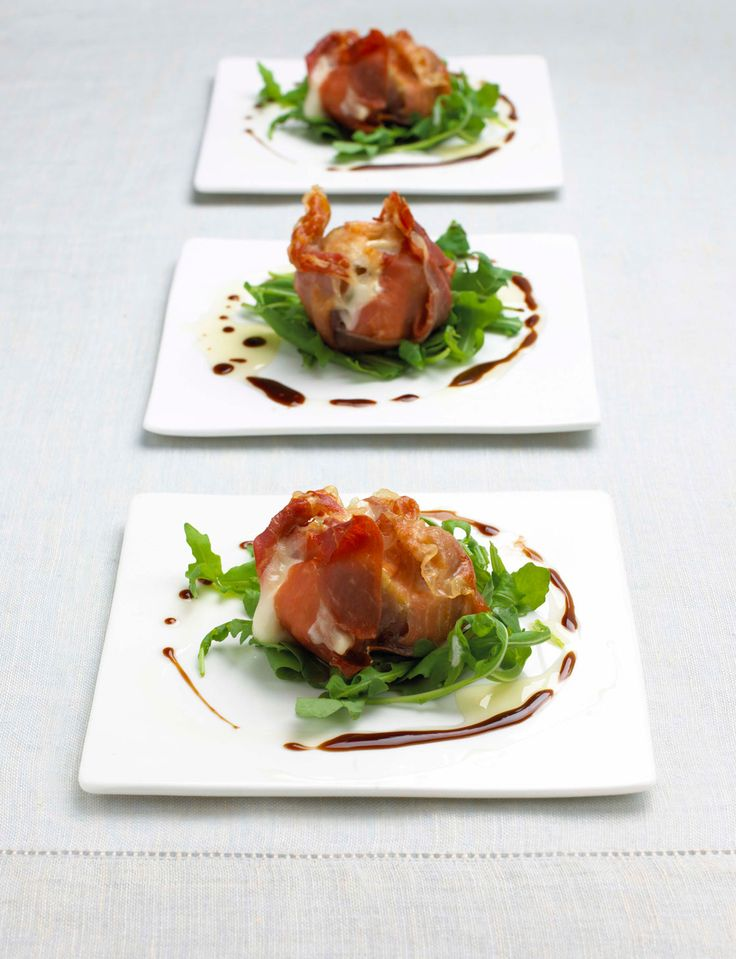 Roasted figs with Parma ham and goat's cheese - Sainsbury's Magazine