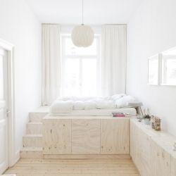 Ausbau Apartment Wiesbaden is a minimalist house located in Wiesbaden, Germany, designed by Studio Oink.