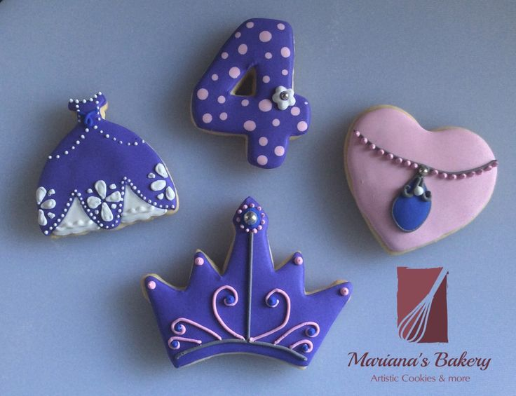 Disney princess Sofia the First sugar  cookies (1 dozen) by MarianasBakery on Etsy https://www.etsy.com/listing/229594688/disney-princess-sofia-the-first-sugar