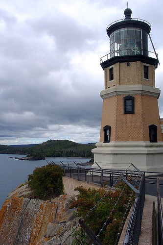View of Split Rock Lighthouse, Minnesota