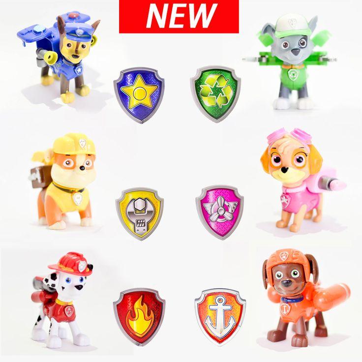 Patrol hond Anime Speelgoed Action Figure MovieJuguetes Brinquedos Schattige Puppy patrol Speelgoed Voor Jongen Kind Gift Voor Meisjes Kinderen