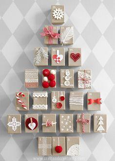 Paketkalender med askar – Gift Box Advent Calendar   Craft & Creativity   Bloglovin'