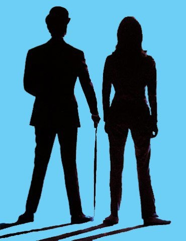 """""""The Avengers"""" - Mr. John Steed and Mrs. Emma Peel - My favorite TV series to watch on Thursday nights in the late 1960s and early 1970s."""