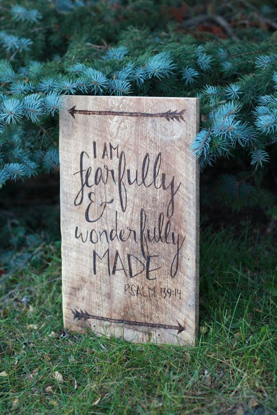Barn Wood Sign Psalm 149:14 Bible Verse I by TheReclaimedNation