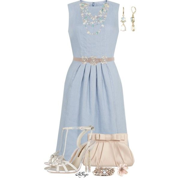 """""""Afternoon Wedding Guest Style"""" by kginger on Polyvore"""