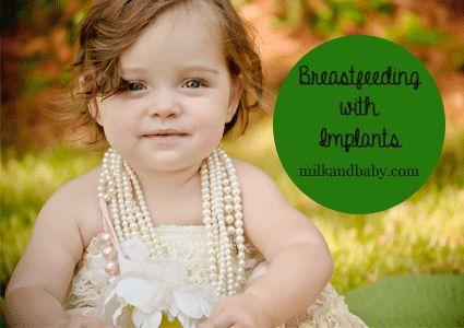 Can you breastfeed with implants? www.milkandbaby.com
