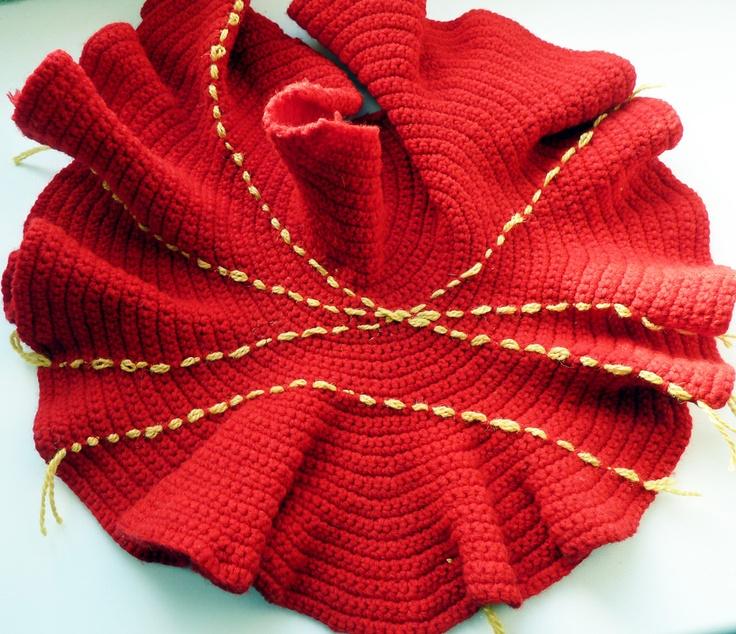 182 besten Hyperbolic crochet Bilder auf Pinterest | Häkelideen ...