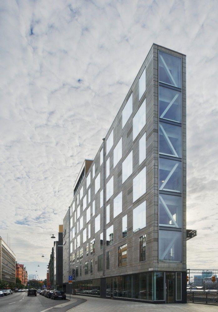 Flat Iron Building in Stockholm by Rosenbergs Arkitekter