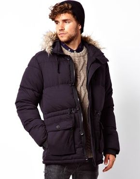 ASOS Quilted Arctic Parka