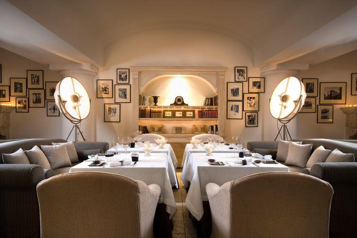 L'Olivo Restaurant at Capri Palace.