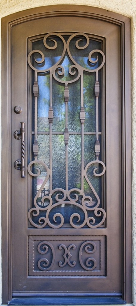 Torino Iron Entry Doors #Firstimpression