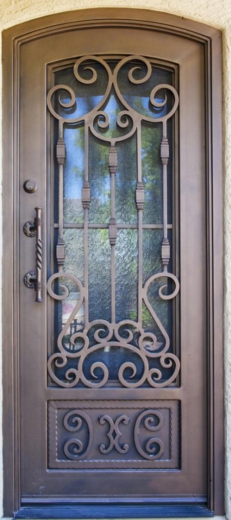 Torino Iron Entry Doors #Firstimpression