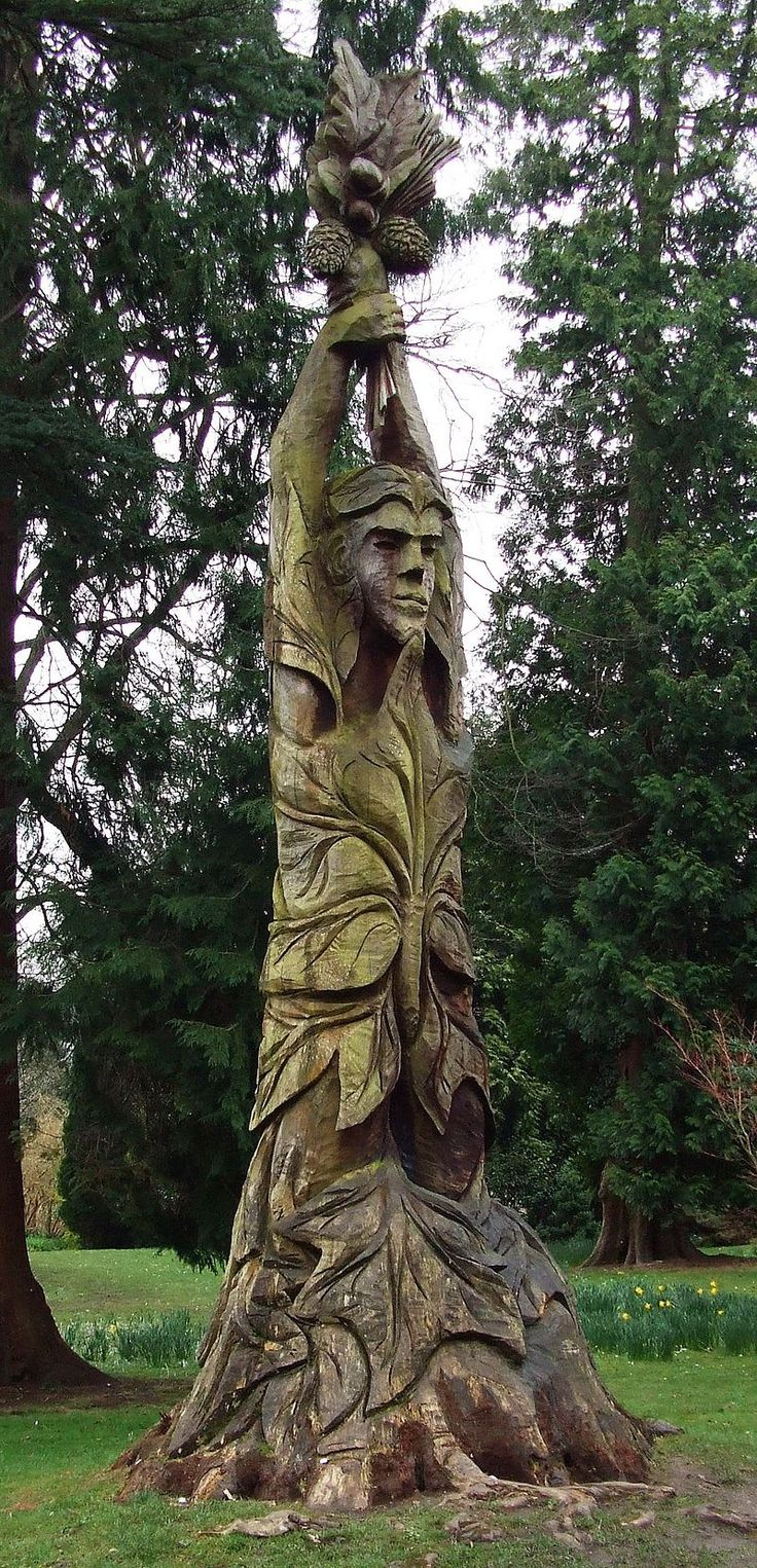 Best carved trees images on pinterest