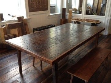 71 Best Reclaimed Wood Images On Pinterest  Dining Room Tables New Reclaimed Wood Dining Room Set Inspiration Design