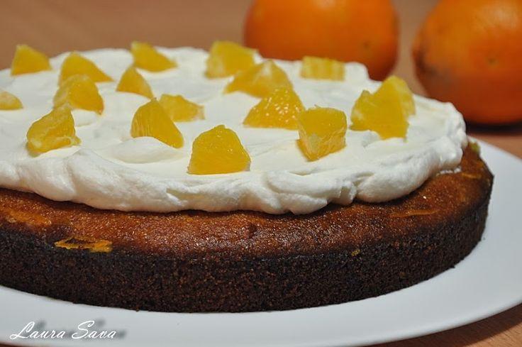 Tort de portocale cu gris pentru diabetici | Retete culinare cu Laura Sava