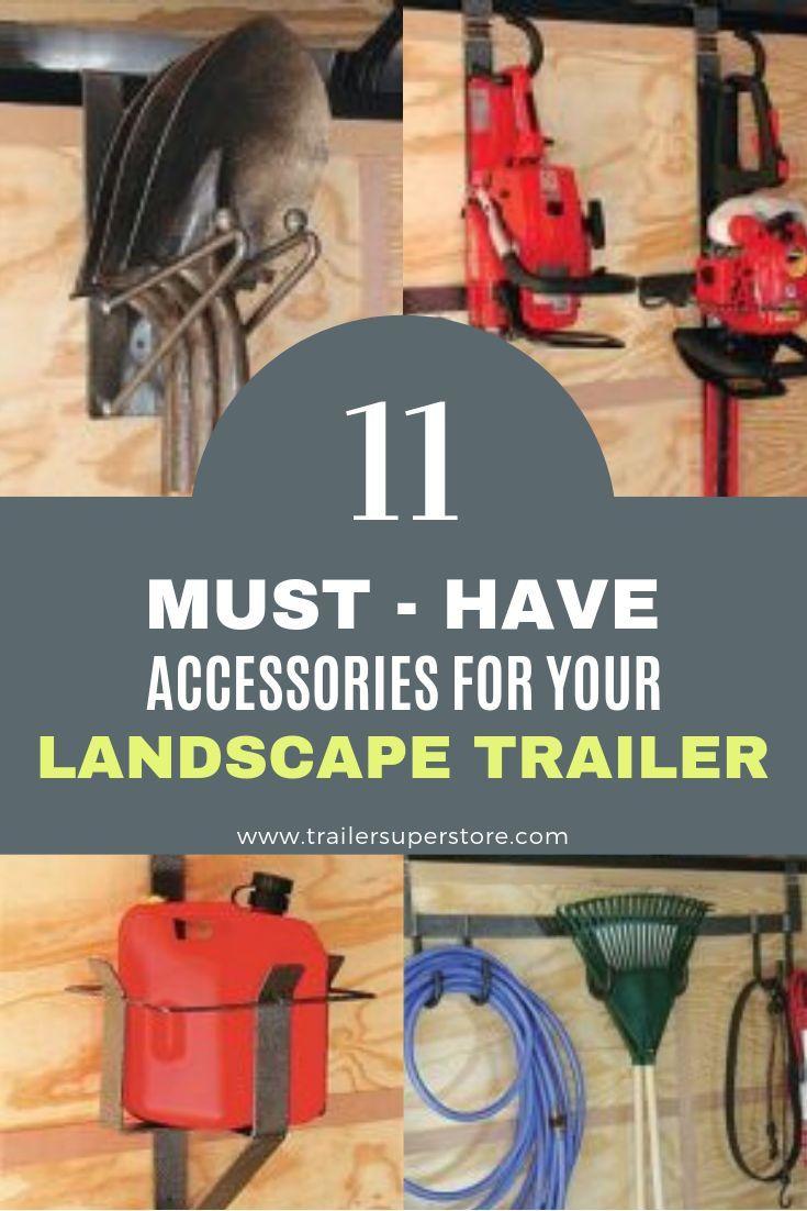 Landscape Trailer Accessories For Sale All Pro Trailer Superstore Landscape Trailers Trailer Accessories Trailer Organization