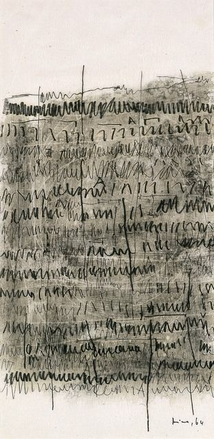 MIRA SCHENDEL | ARCHAIC WRITING, 1964 - [BLANTON MUSEUM OF ART]