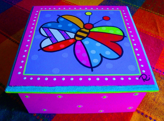 Caja de Té by rebeca maltos, via Flickr