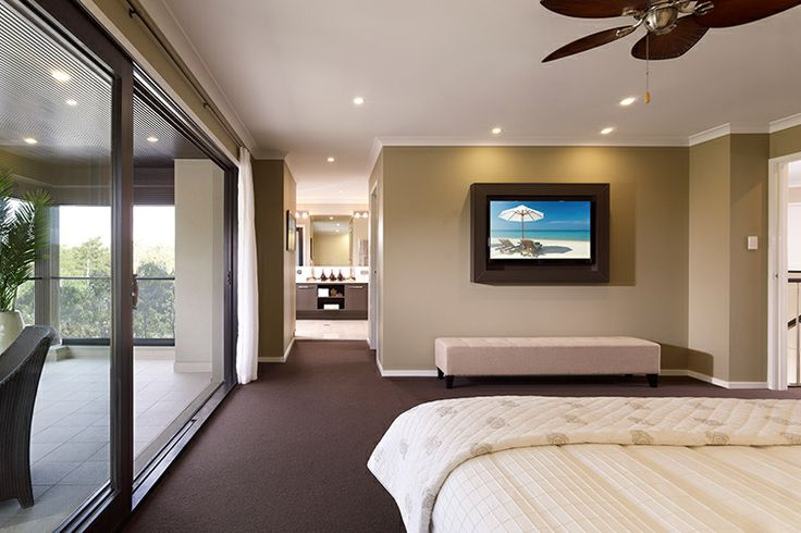 Master suite with balcony, WIR, and ensuite