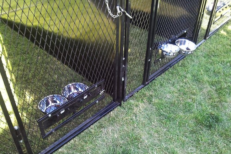 Ever wondered how to feed your dog without him jumping on you. With our Kennel Mounted Swivel Bowl System, feeding time is so much easier and efficient compared to the traditional feeding system. You can put in food and water inside the kennel without opening the main gate, thus eliminating the chance of your pet charging out.