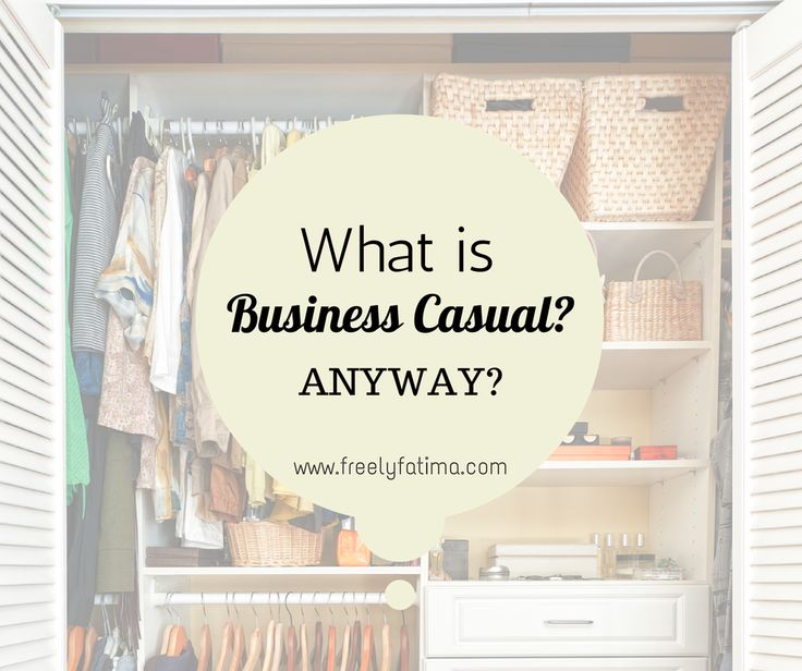 I really don't like the term business casualbecause it can be interpreted in so many ways and (in my opinion) too often it is used to excuse bad clothing at work (eek! Yeah I said it..) This sound...