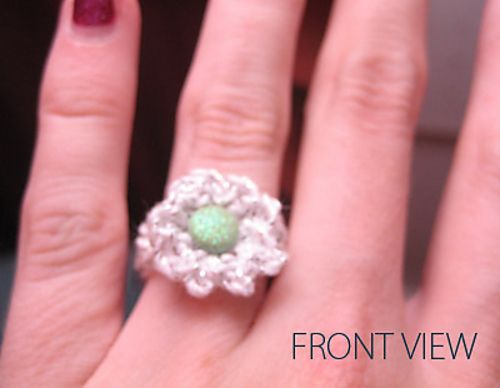 free Ravelry: Flower Ring pattern by Denise Truett