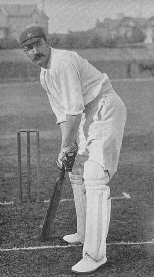 27-George Giffen was an all-rounder who batted in the middle order and often opened the bowling with medium-paced off-spin, He captained Australia during the 1894–95 Ashes series. He was the first Test cricketer to score 1000 runs and take 100 Test wickets and the first Australian to take 1000 first-class wickets and score 10000 runs.