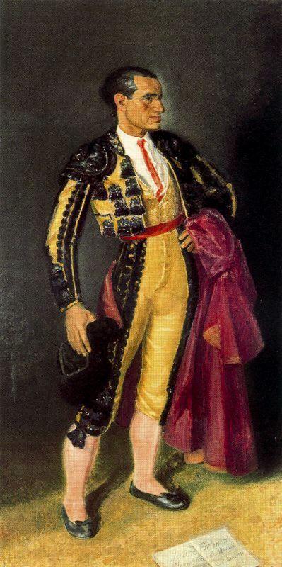 Vázquez Díaz, Daniel retrato de Juan Belmonte 1947
