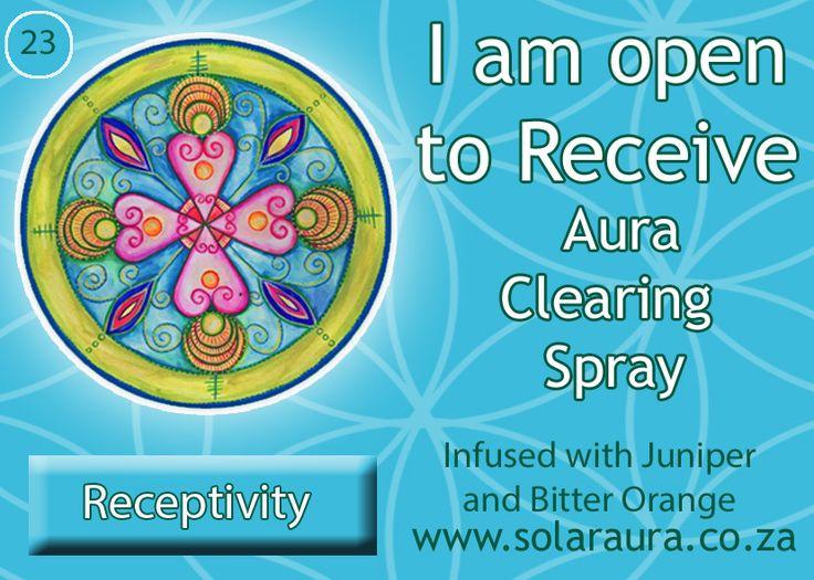 23-aura clearing spray receptivity