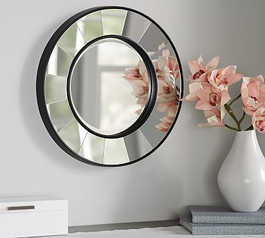 find this pin and more on decor u0026 pillows u003e wall mirrors by potterybarn