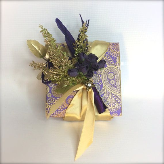 Wedding Gift Box Groomsmen Gifts Wedding Favors by WrapsodyandInk