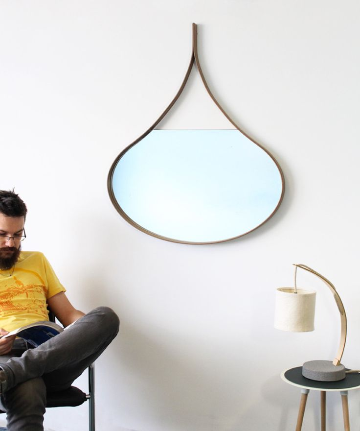 Loopie mirror by m dex design made in united kingdom uk on crowdyhouse