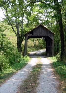 Valley Pike Covered Bridge, Kentucky