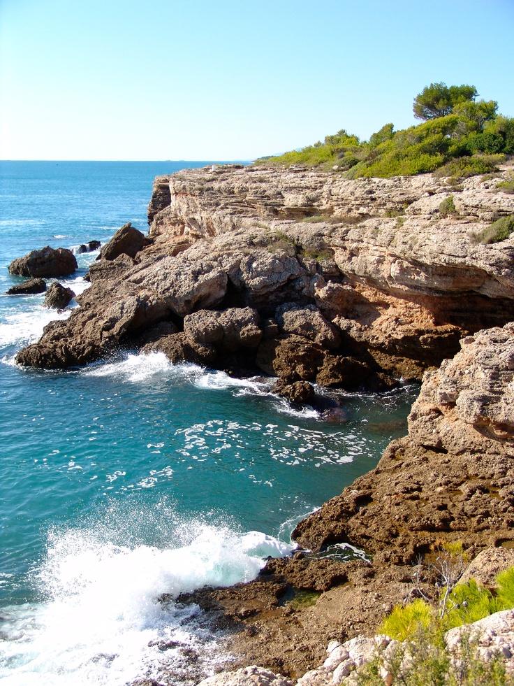 The Sea in the Ametlla de Mar, Tarragona Spain......by Jordi Somalo