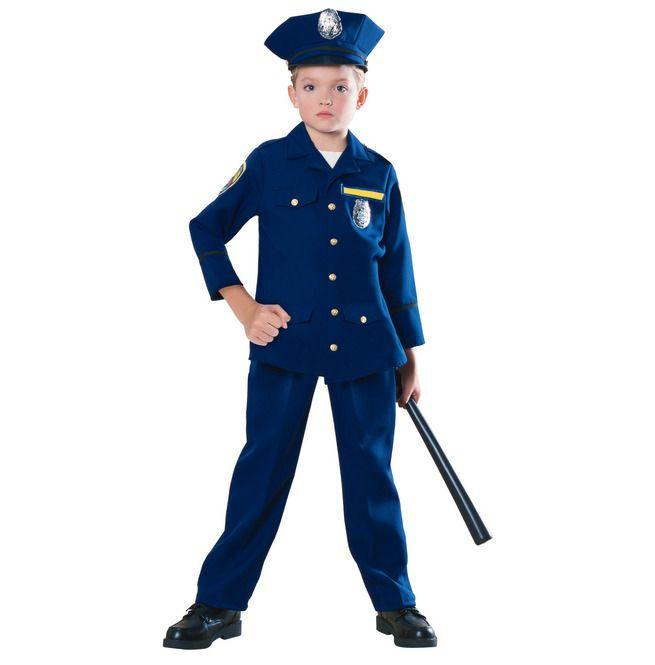 Kids Police Officer Costume In 2021 Police Officer Costume Kids Police Officer Costume Police Costume