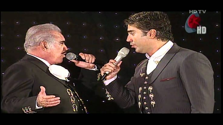 Alejandro & Vicente Fernandez - Perdón en vivo HD