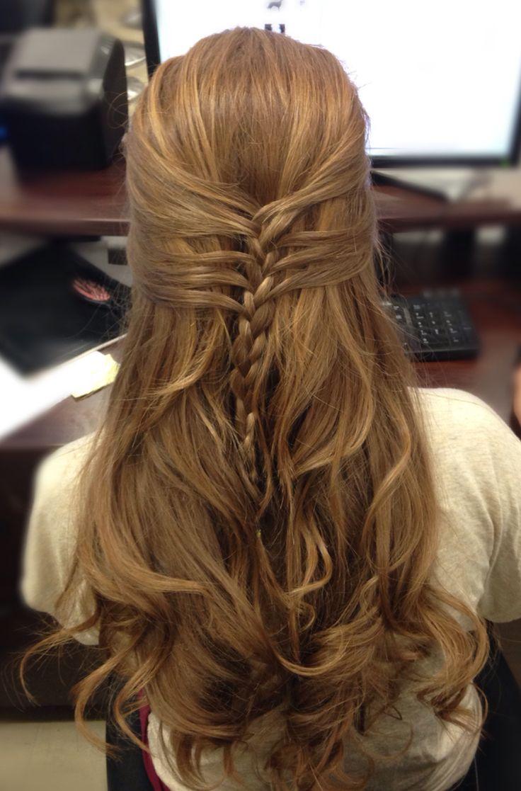 Half mermaid braid