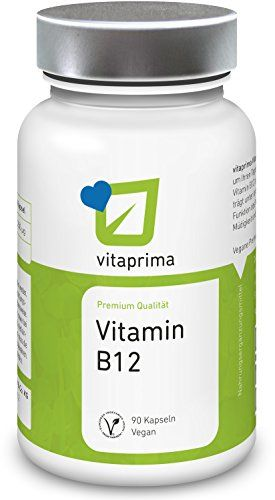 Vitamin B12 Kapseln VEGAN & HOCHDOSIERT - 250µg Methylcob…