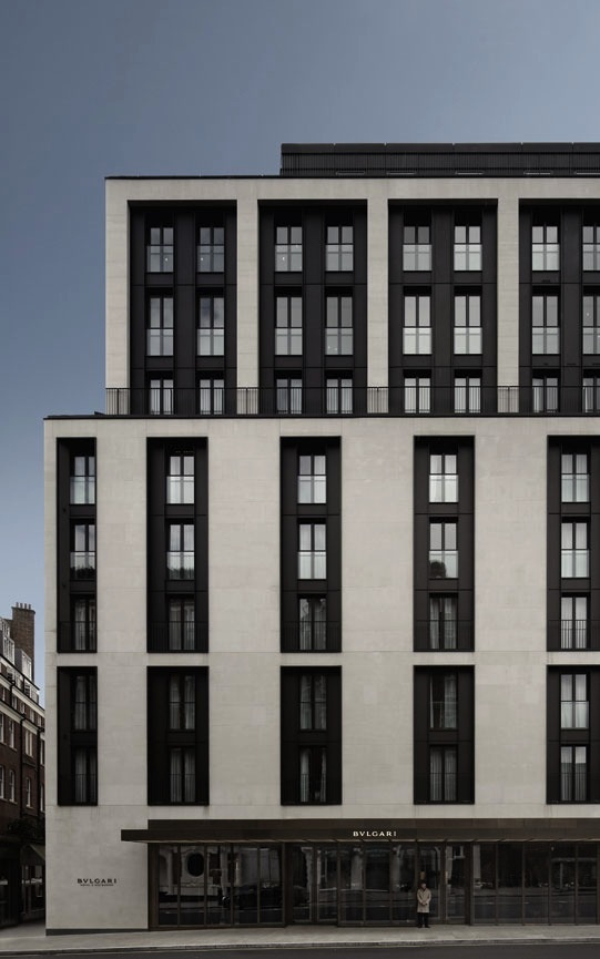 BVLGARI Hotel in London, UK -  Antonio Citterio Patricia Viel