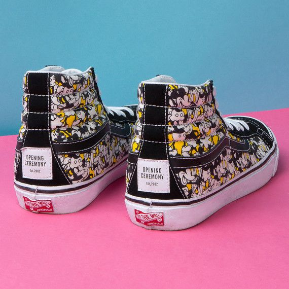 "Disney x Opening Ceremony x VANS – ""Mickey Mouse"" Footwear Collection"