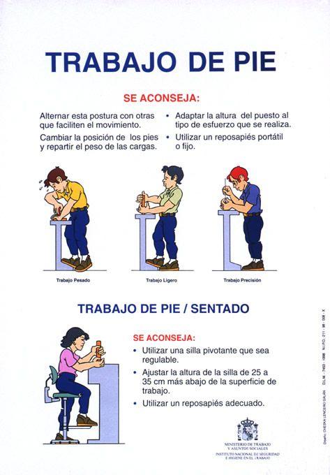Sencillos consejos a tener en cuenta tanto si trabajas de pie como sentado. Evitar lesiones en la espalda, cuello y extremidades está en tus manos. Ante todo, ¡prevención en riesgos laborales!