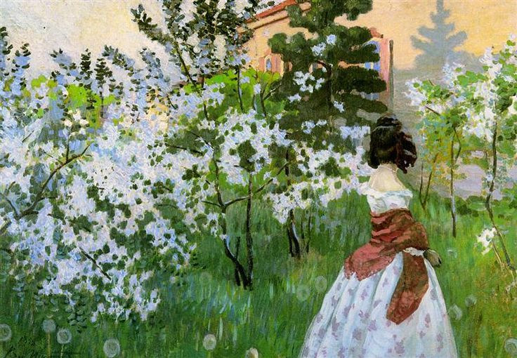 Весна, 1899 - Виктор Борисов-Мусатов
