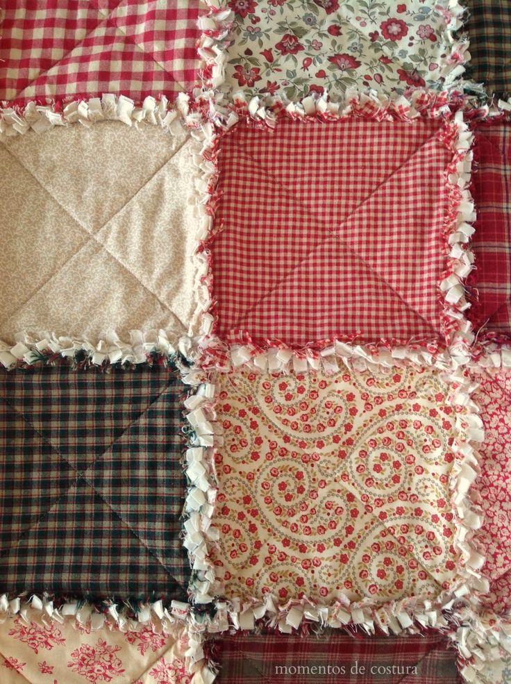rag quilt quien no conoce esta bonita tcnica de patchwork fcil de hacer
