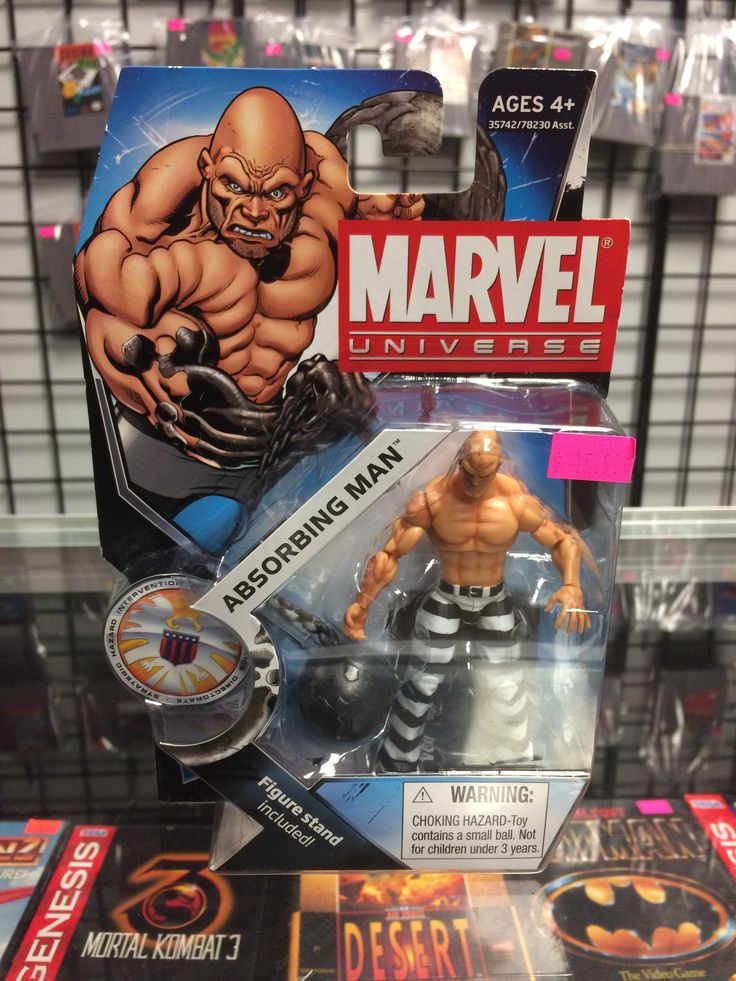 Marvel Universe Absorbing man 2011