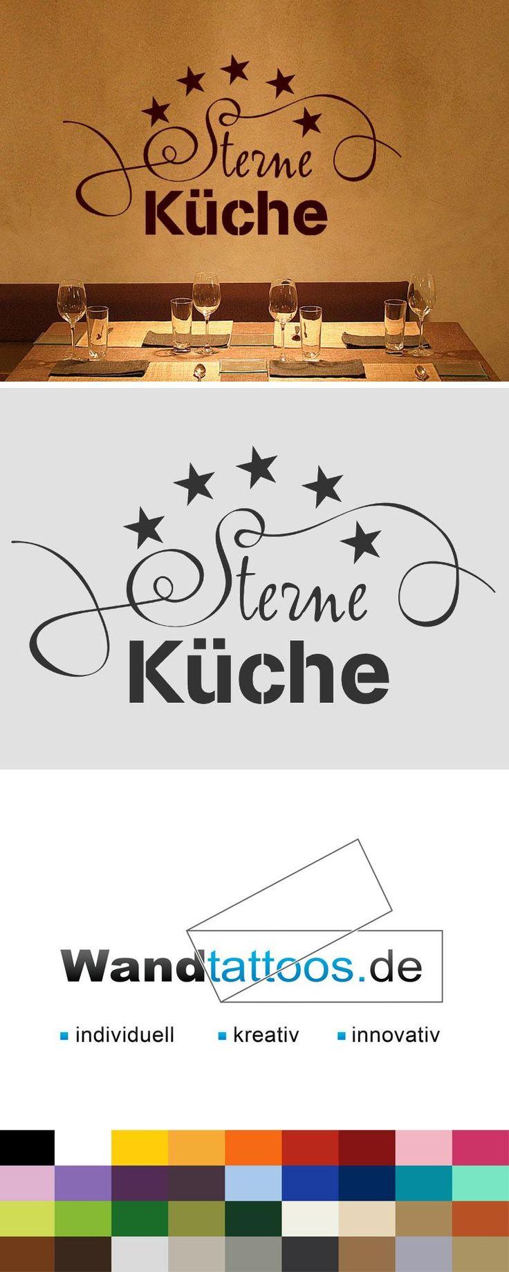 Wandtattoo Sterne Küche als Idee zur individuellen Wandgestaltung. Einfach Lieblingsfarbe und Größe auswählen. Weitere kreative Anregungen von Wandtattoos.de hier entdecken!