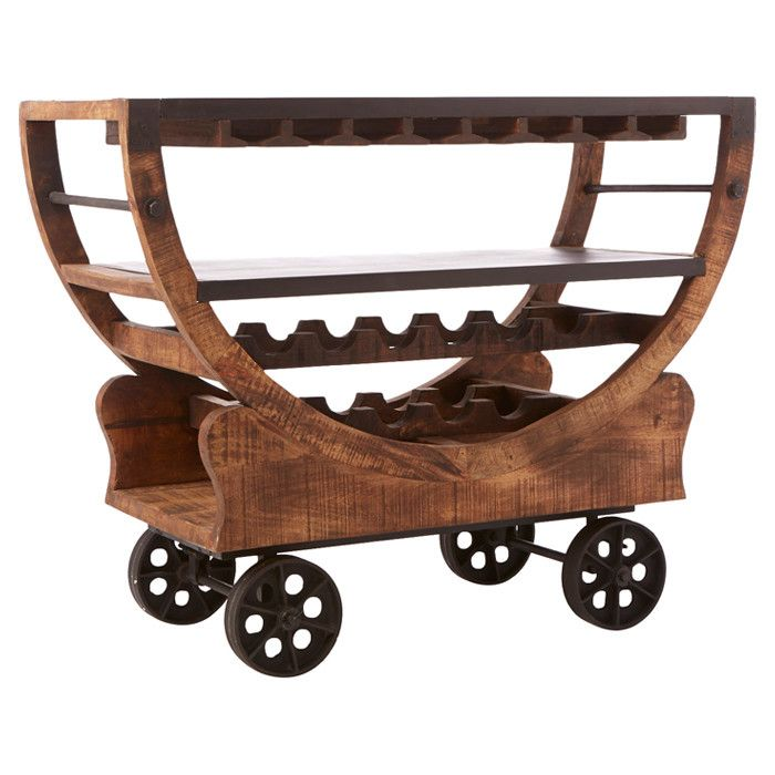 Emerson Bar Cart I love this, but don't see it being very practical in my house with 3 small children. :(